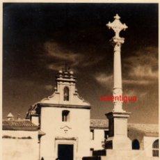Fotografía antigua: FANTÁSTICA FOTO ERMITA VIRGEN CABEZA Y SAN ROQUE PATIO DE LOS SILOS BURJASOT VALENCIA 50-60 MD. Lote 198727676