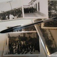 Fotografía antigua: LOTE 6 FOTO FOTOGRAFIAS ALCARECEJOS CORDOBA PROCESION VIRGEN DE REGLA (20). Lote 198763926