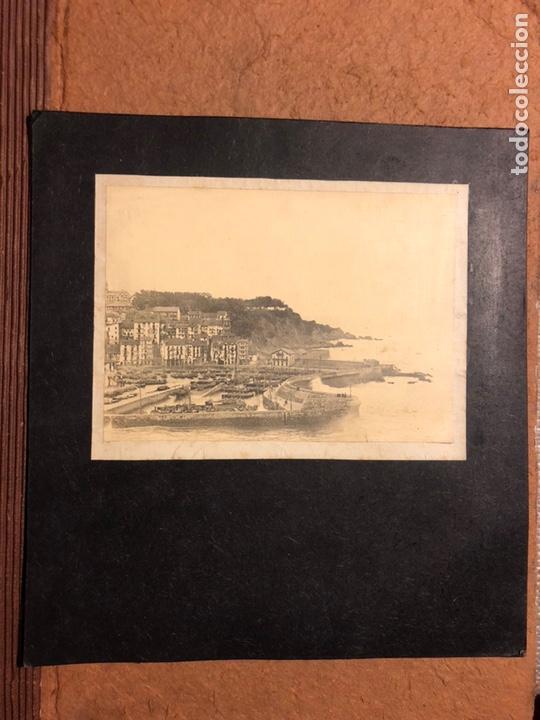 Fotografía antigua: PUERTO DE BERMEO. ANTIGUA FOTOGRAFÍA DE PRINCIPIOS DEL SIGLO XX. - Foto 2 - 199236621