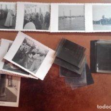 Fotografía antigua: LARACHE- MARRUECOS- COLONIZACION ESPAÑOLA- LOTE FOTOGRAFIAS Y CLICHES- CA 1.940- 1950. Lote 199389756
