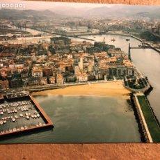 Fotografía antigua: PLAYA DE LAS ARENAS (GETXO). FOTOGRAFÍA AÉREA DEL AÑO 2000.. Lote 199434848