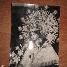 Fotografía antigua: FOTO POSTAL CARITAS VIRGEN DESAMPARADOS COFRADIA IBI ALICANTE 50 ANIVERSARIO 1974. Lote 160576434