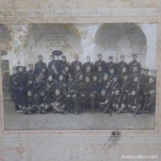 Fotografía antigua: ANTIGUA FOTOGRAFÍA DE MILITARES DEL S. XIX.JOAN BAJONA.. Lote 199754961