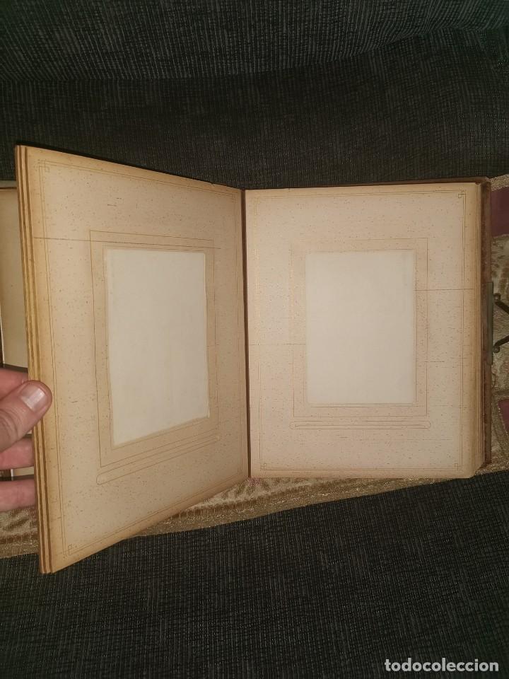 Fotografía antigua: Espectacular álbum de fotos victoriano. Siglo XIX - Foto 6 - 200065703