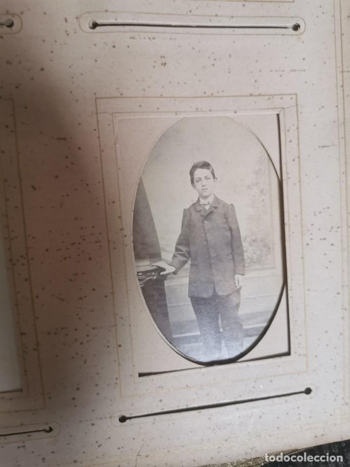 Fotografía antigua: Espectacular álbum de fotos victoriano. Siglo XIX - Foto 8 - 200065703