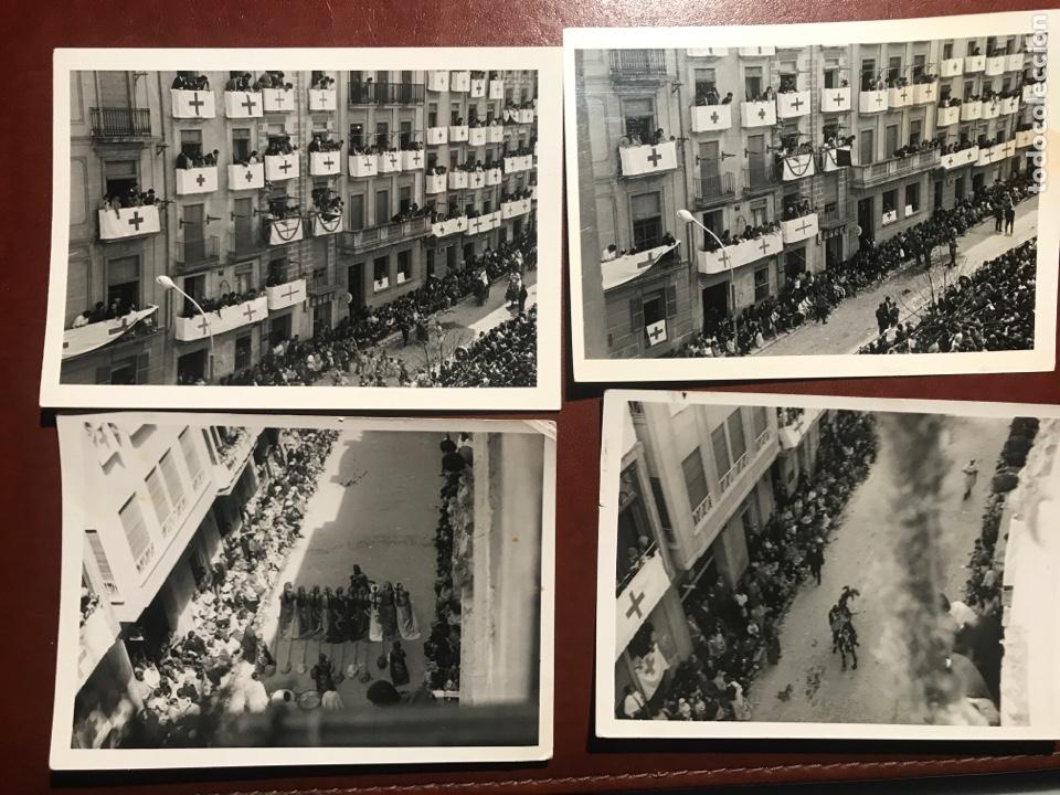 Fotografía antigua: Alcoy. Fiestas. Años 60. 5 fotos - Foto 2 - 200374696