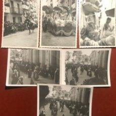 Fotografía antigua: ALCOY. FIESTAS . 1955. Lote 200374855
