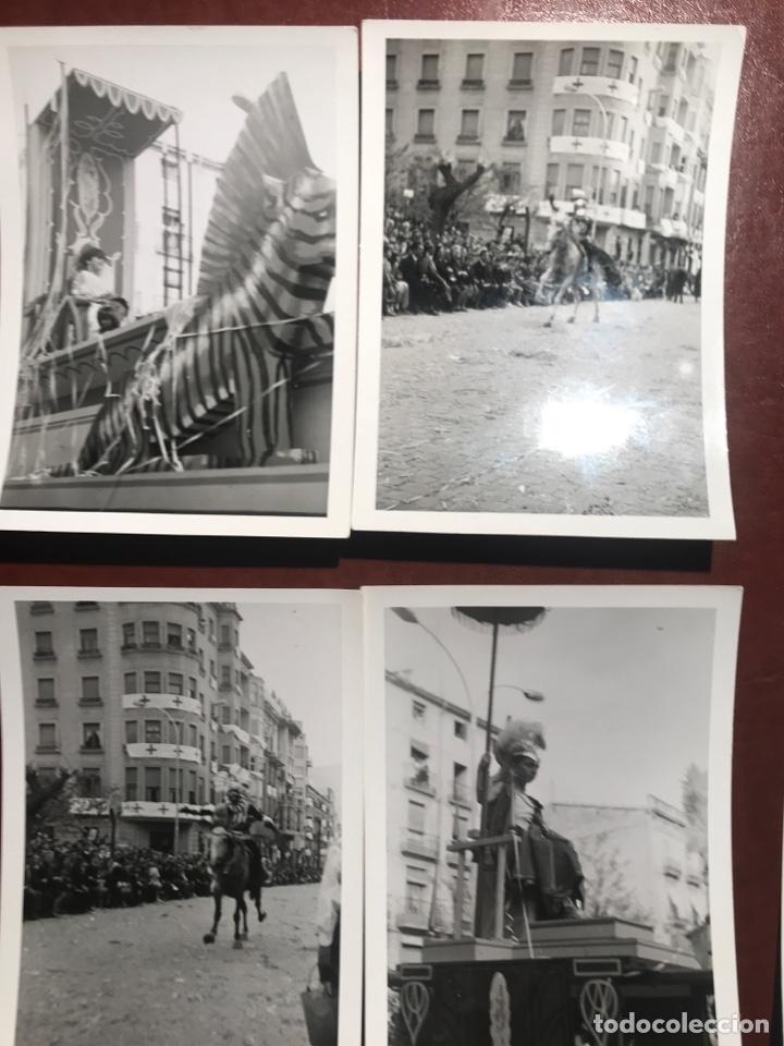 Fotografía antigua: Alcoy. Fiestas. 1965. 8 fotos - Foto 2 - 200375497
