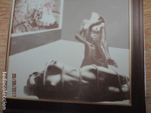 DESNUDO PINTURA VALENCIANA FOTO ORIGINAL ANTIGUA DE CUADRO DE ANTONI FERRI (Fotografía - Artística)