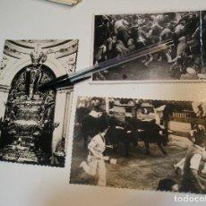 Fotografía antigua: SAN FERMIN LOTE DE 2 POSTALES Y UNA FOTO FOTOGRAFIA (20-4). Lote 201920151