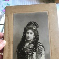 Fotografía antigua: ANTIGUA FOTOGRAFÍA ARTÍSTICA DE ZARAGOZA, SIGLO XIX. Lote 202658136