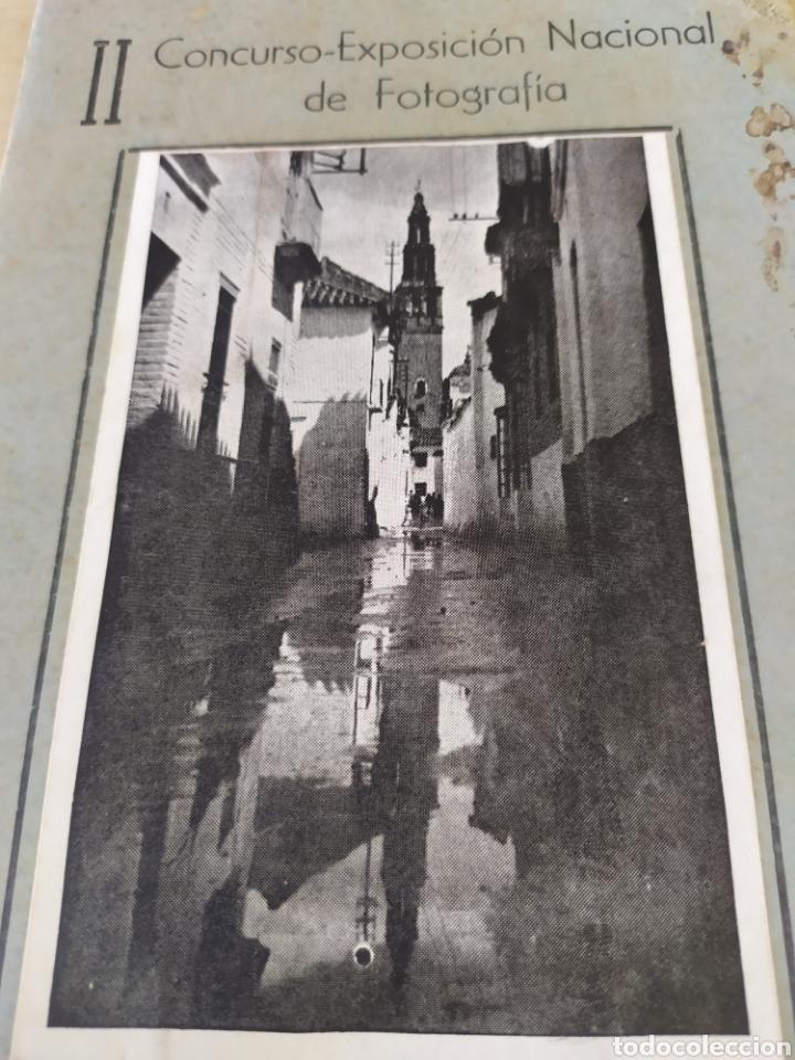 II CONCURSO EXPOSICIÓN NACIONAL DE FOTOGRAFÍA, ÉCIJA( 1945). (Fotografía - Artística)