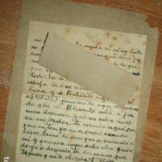 Fotografía antigua: CARTA EN CAMPAÑA GUERRA ALEMANA FRANCISCO LL. A. SOLDADO VOLUNTARIO DE ALICANTE DIVISION AZUL. Lote 97217099