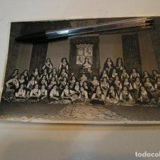 Fotografía antigua: REQUENA ANTIGUA FOTO FOTOGRAFIA REINAS Y DAMAS DE HONOR DE LA FIESTA VENDIMIA AÑO 1950 (20-5). Lote 204373911