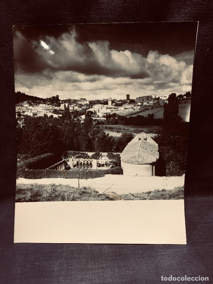 FOTOGRAFÍA VISTA SORIA RUINAS DE SAN JUAN DE DUERO FOTÓGRAFO R ARRANZ JULIO 1963 20 X 25 CM (Fotografía - Artística)
