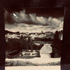 Fotografía antigua: FOTOGRAFÍA VISTA SORIA RUINAS DE SAN JUAN DE DUERO FOTÓGRAFO R ARRANZ JULIO 1963 20 X 25 CM. Lote 204812747
