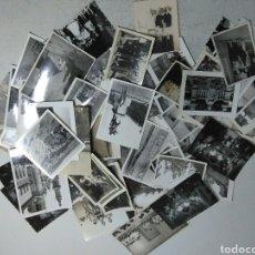 Fotografía antigua: INTERESANTE LOTE DE 60 FOTOGRAFIAS ANTIGUAS. Lote 205169253