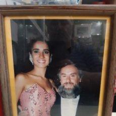 Fotografía antigua: PEPE GARALBA LUGO SILVIA JATO GANADORA MIS GALICIA MIS NACIONAL FOTOGÉNICA 1989 FOTO ORIGINAL. Lote 205453133