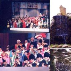 Fotografia antiga: LOTE DE 5 FOTOGRAFIAS DE PUERTO REAL - CARNAVAL - CORO VAYA CORTES 1992 - PORVENIR - MUELLE. Lote 205456641