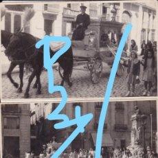 Photographie ancienne: 3 FOTOS ENTIERRO EN REUS TARRAGONA AÑOS 50. Lote 205526172
