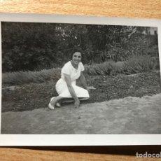 Fotografía antigua: SEÑORITA. Lote 205608615
