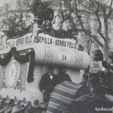 Fotografía antigua: BARCELONA-CARROZA A CABALLO PUBLICIDAD CEPILLERIA AMERICANA-FOTOGRAFIA ANTIGUA-VER FOTOS-(V-20.270). Lote 206165803