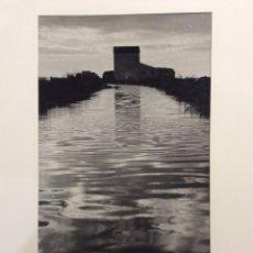 """Fotografía antigua: FOTO """"CANAL"""" (LA ALBUFERA- VALÈNCIA).. Lote 206188151"""