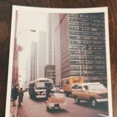 Fotografía antigua: ORIGINAL FOTO DE NUEVA YORK. AÑOS 80. ENVIO INCLUIDO.. Lote 206370606