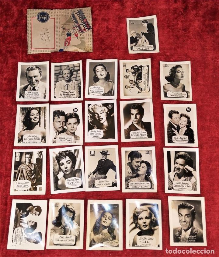 Fotografía antigua: LOTE DE FOTOGRAFÍAS DE ACTORES DE HOLLYWOOD. INFONAL FILM. ESPAÑA. CIRCA 1950 - Foto 2 - 207630897