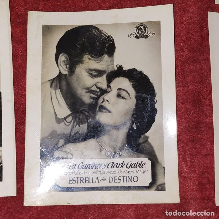Fotografía antigua: LOTE DE FOTOGRAFÍAS DE ACTORES DE HOLLYWOOD. INFONAL FILM. ESPAÑA. CIRCA 1950 - Foto 6 - 207630897
