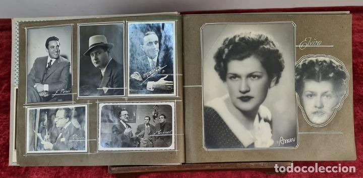 Fotografía antigua: ÁLBUM DE 107 FOTOGRAFÍAS DE VARIOS ARTISTAS. FIRMADAS. DÉCADA DE 1940. - Foto 4 - 208212667