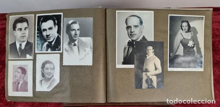 Fotografía antigua: ÁLBUM DE 107 FOTOGRAFÍAS DE VARIOS ARTISTAS. FIRMADAS. DÉCADA DE 1940. - Foto 6 - 208212667