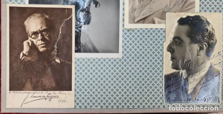 Fotografía antigua: ÁLBUM DE 107 FOTOGRAFÍAS DE VARIOS ARTISTAS. FIRMADAS. DÉCADA DE 1940. - Foto 8 - 208212667