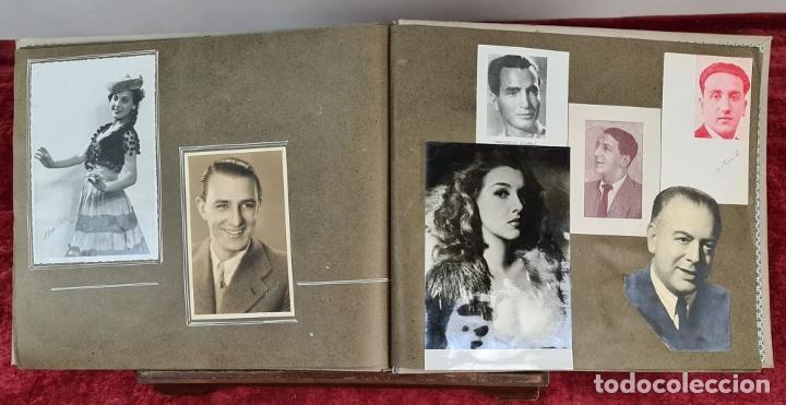 Fotografía antigua: ÁLBUM DE 107 FOTOGRAFÍAS DE VARIOS ARTISTAS. FIRMADAS. DÉCADA DE 1940. - Foto 14 - 208212667