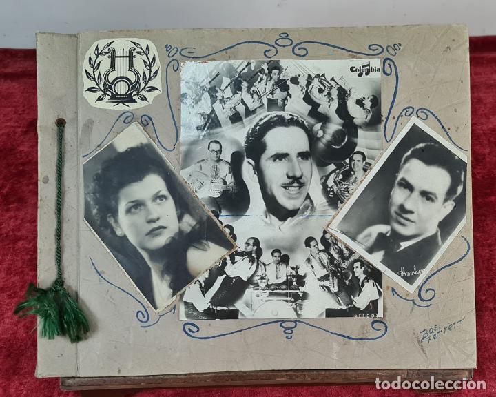 ÁLBUM DE 107 FOTOGRAFÍAS DE VARIOS ARTISTAS. FIRMADAS. DÉCADA DE 1940. (Fotografía - Artística)