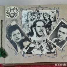 Fotografía antigua: ÁLBUM DE 107 FOTOGRAFÍAS DE VARIOS ARTISTAS. FIRMADAS. DÉCADA DE 1940.. Lote 208212667