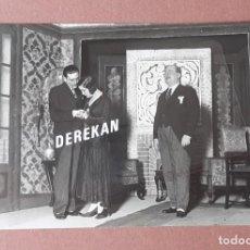 Fotografía antigua: ANTIGUA FOTOGRAFÍA OBRA DE TEATRO. UN PROGRAMA POLÍTICO. TEATRO INFANTA BEATRIZ. MADRID. 1931.. Lote 208961628