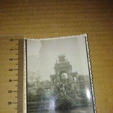 Fotografía antigua: FOTOGRAFIA BARCELONA FUENTE DEL PARQUE 1952. Lote 209098832