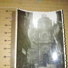 Fotografia antiga: FOTOGRAFIA VALENCIA VISTA PARCIAL DE LA CATEDRAL 1952. Lote 209102115