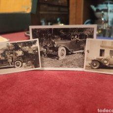 Fotografía antigua: FOTOGRAFÍAS COCHES AÑOS 30. Lote 209821300