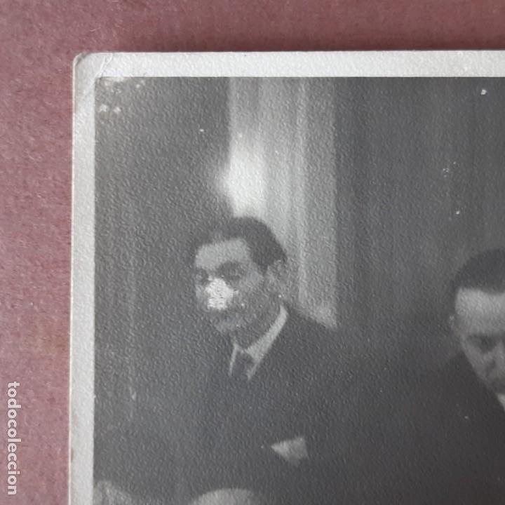 Fotografía antigua: ANTIGUA FOTOGRAFÍA GRUPO DE HOMBRES. FRANCIA? - Foto 2 - 210586593