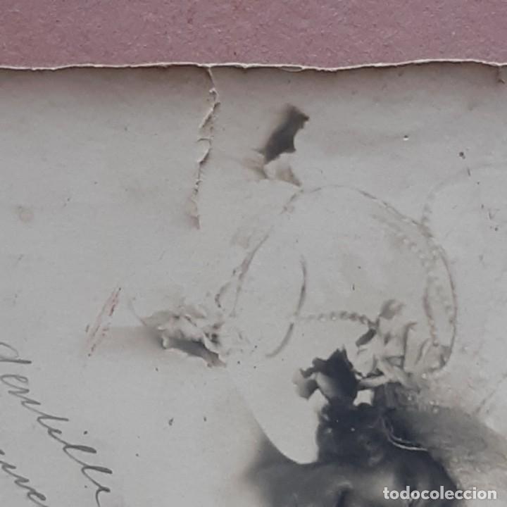Fotografía antigua: ANTIGUA FOTOGRAFÍA MUJER JÓVEN. FOLIES BERGÈRE. ROUEN. 1928. FRANCIA. DEDICADA. - Foto 2 - 210589101