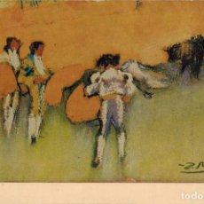 "Fotografía antigua: LITOGRAFÍA PICASSO. CORRIDA DE TOROS (1900). Nº 276 MUSEO DEL ""CAU FERRAT"", SITGES. TAMAÑO 146 X 97. Lote 211732475"