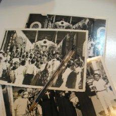 Fotografía antigua: FOTO FOTOGRAFIA LOTE 4 FOTOS COMUNION ACTO RELIGIOSO SACRAMENTO EN ORIZABA MEJICO (20 - 7-2). Lote 212238920