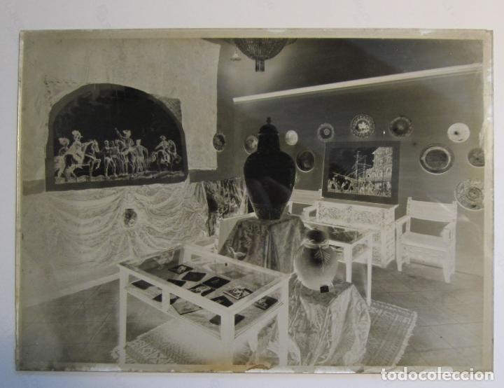 Fotografía antigua: GALERIES LAIETANES. XAVIER NOGUÉS. ARAGAY. 8 PLACAS NEGATIVO Y DOS FOTOS PAPEL - Foto 13 - 212372067