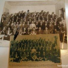 Fotografía antigua: ANTIGUA FOTO FOTOGRAFIA MADRID 1928 ACADEMIA DE JOSE ORAD , OPOSICION DE AYUDANTE DE MONTES. Lote 213754235