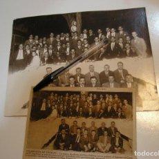 Fotografía antigua: ANTIGUA FOTO FOTOGRAFIA MADRID 1928 ACADEMIA DE JOSE ORAD , LOS NUEVOS AYUDANTES DE OBRAS PUBLICAS. Lote 213754350