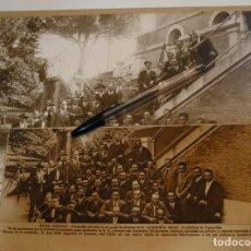 Fotografía antigua: FOTO FOTOGRAFIA MADRID 1928 SOLARES ASOCIACION AYUDANTES DE INGENIEROS , CALLE RAIMUNDO VALVERDE. Lote 213754537