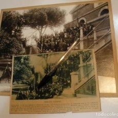 Fotografía antigua: FOTO FOTOGRAFIA MADRID 1928 SOLARES ASOCIACION AYUDANTES DE INGENIEROS , CALLE RAIMUNDO VALVERDE. Lote 213754702
