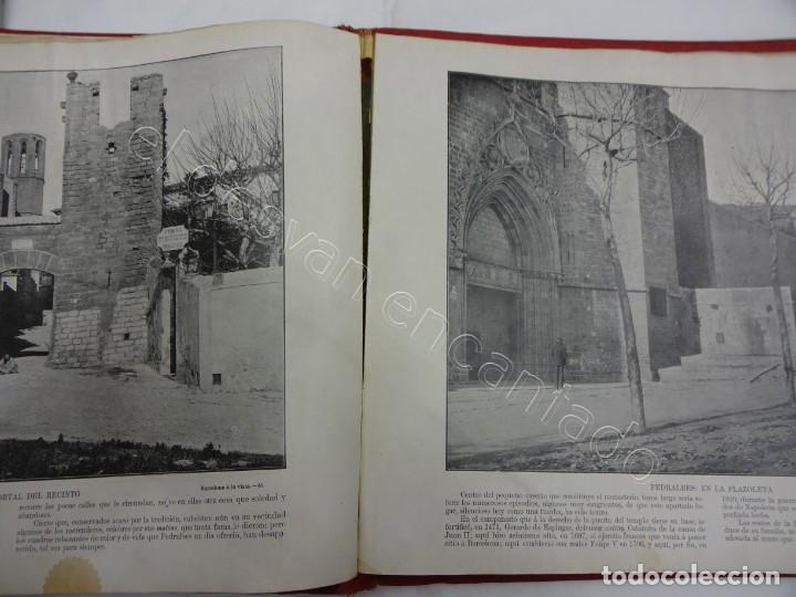 Fotografía antigua: BARCELONA a la vista. Fotografías de la capital y alrededores. Album Libreria Española - Foto 4 - 213775811